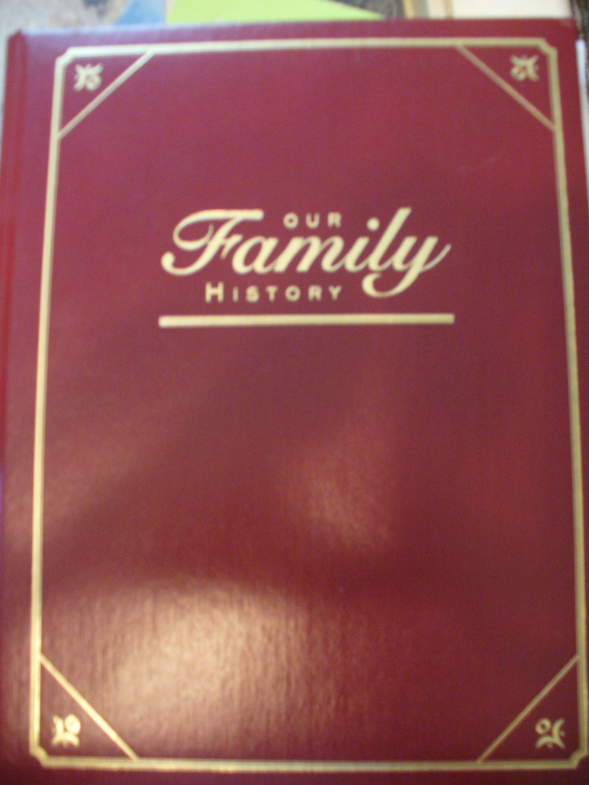 family history photo books