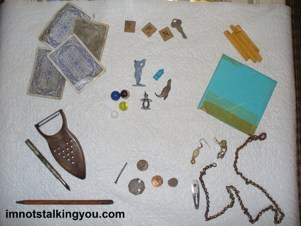 Objects found around our house.