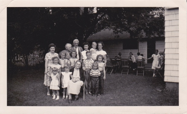 """Taken on Grandma's 90th Birthday at Ray's-1951"""