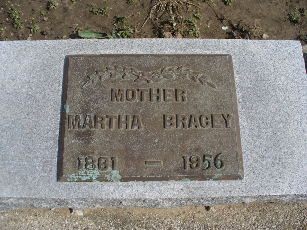 My Great Grandmother's tombstone