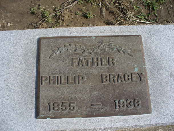 Phillip Bracey b.1855 d.1936