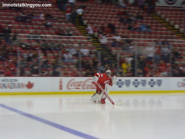 View from the Penalty Box: Osgood takes the ice