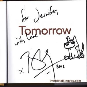 Bradley Trevor Greive Autograph