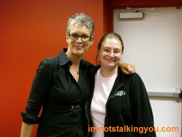 Jamie Lee Curtis and me