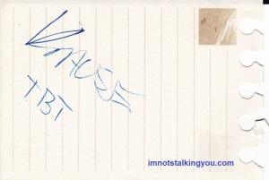 Jason Krause's Autograph