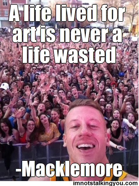 MACKLEMORE-Art