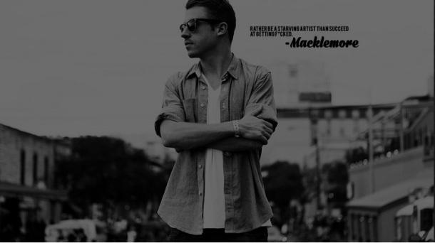 MACKLEMORE-Starving Artist