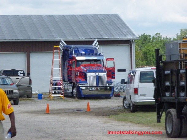 Optimus Prime!