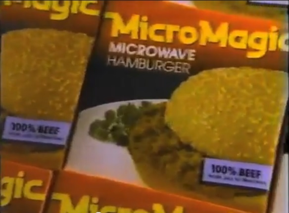 Behold!  The MicroMagic burger!