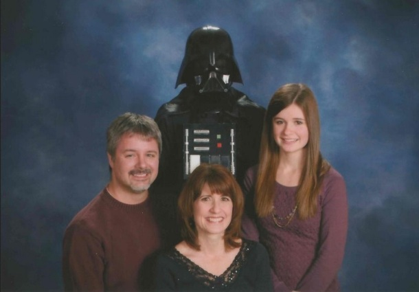 Not my family, but very funny! Photo: http://www.reddit.com