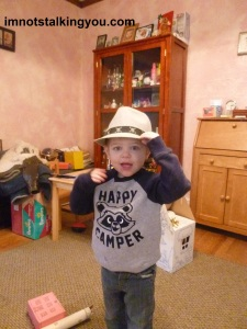 The dashing birthday boy!