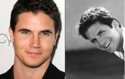 Robbie Amell and Hal Sparks