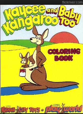 Kiddie City Coloring Book