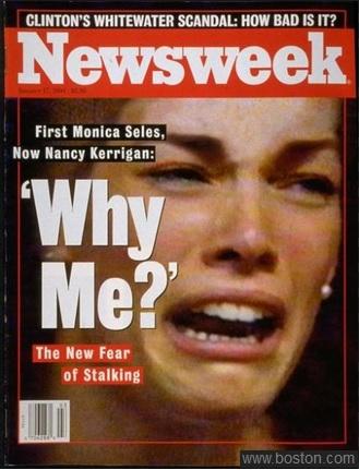 Nancy Kerrigan on the cover of Newsweek