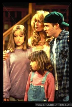 The cast of Phenom (1993-94) Angela Goethals, Judith Light, Todd Louiso & Ashley Johnson