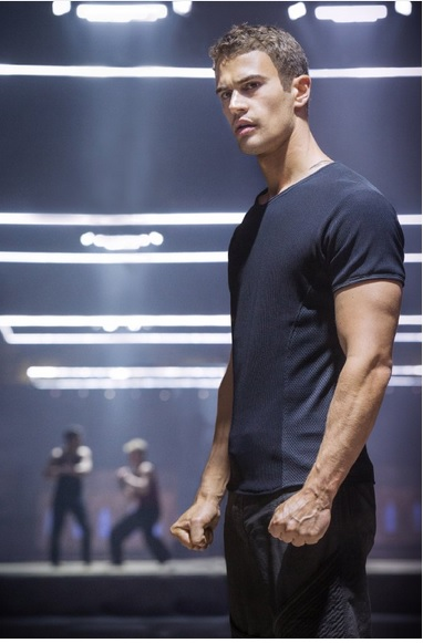 Theo James as Four Photo: Summit Entertainment