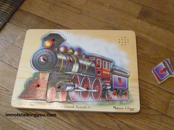 TRAIN PUZZLE-toy