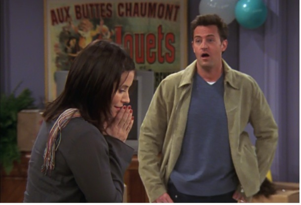 My favorite shot of Chandler from the Friends series finale Photo: Warner Bros.