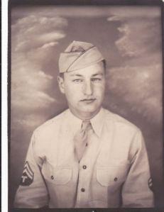 My Dad, World War II veteran