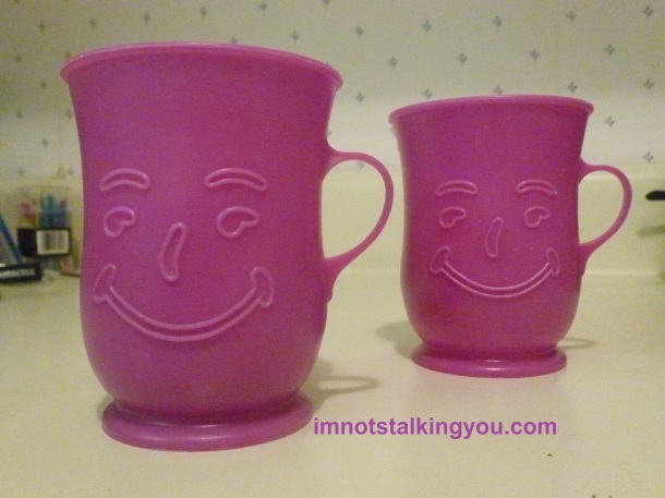 My set of Kool-Aid mugs