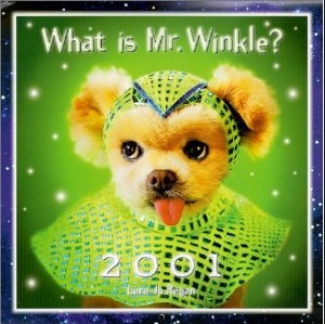 What is Mr. Winkle 2001 calendar Photo: Lara Jo Regan