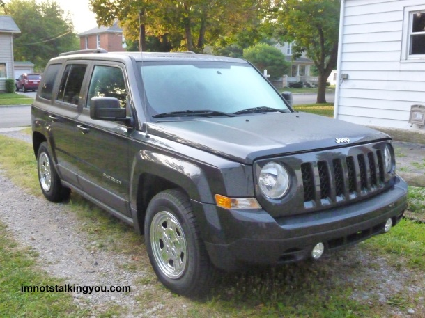 2011 Jeep Patriot that I took home.