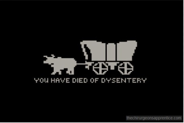 MORNING THOUGHTS-Oregon Trail