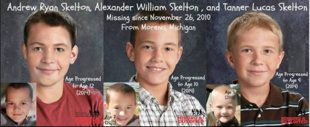The Skelton Brothers, missing since 11/26/10