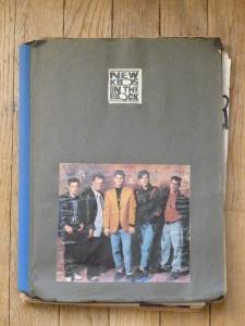 My NKOTB scrapbook