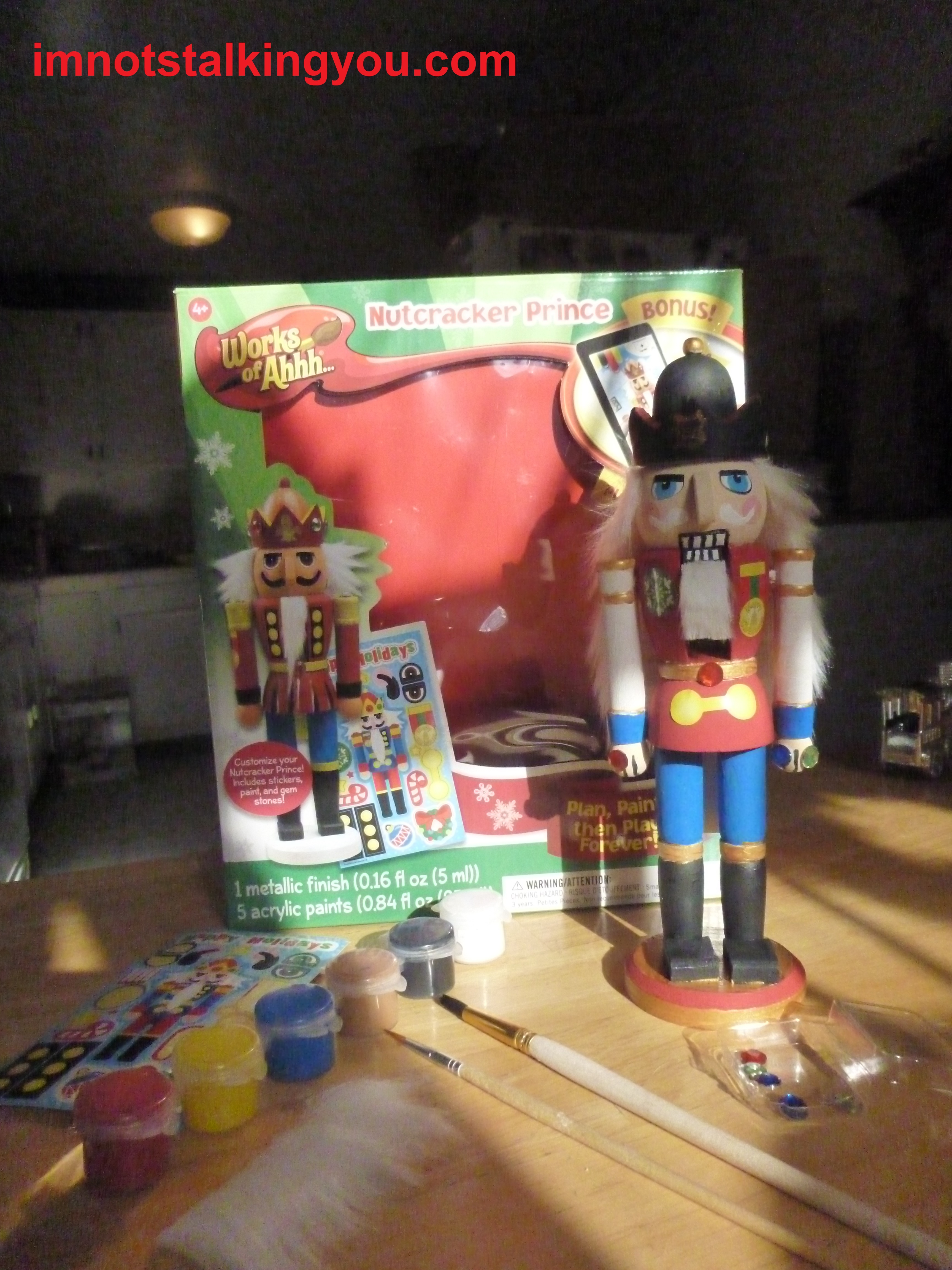 Holiday im not stalking you nutcracker prince kit solutioingenieria Image collections