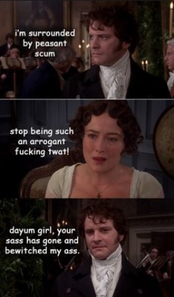 Pride and Prejudice meme