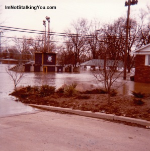 Flooded Park in Blissfield, Michigan, 1981