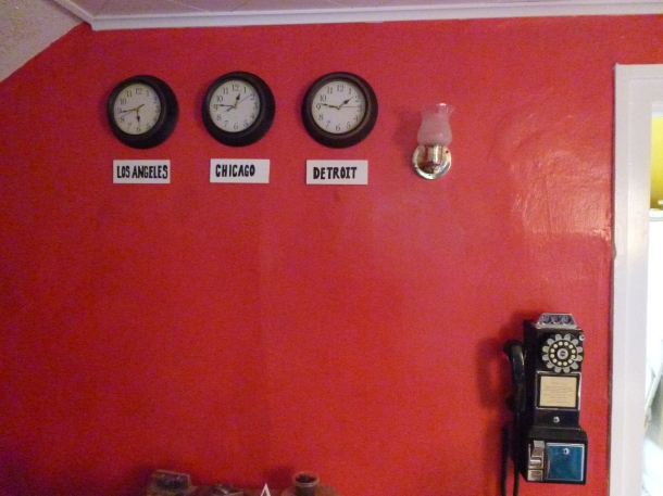 I can tell time. The clock on the left is defective, I swear!