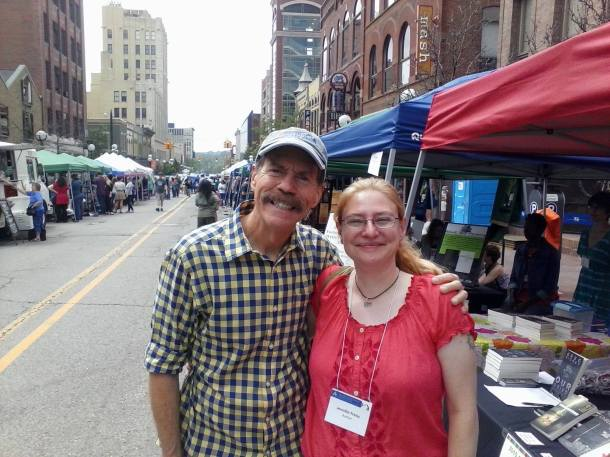 Me with Tom Daldin from Under the Radar Michigan (PBS)