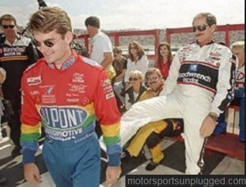 "I have read where Earnhardt affectionately gave Jeff the nickname ""Wonder Boy."" I doubt there was much affection there..."