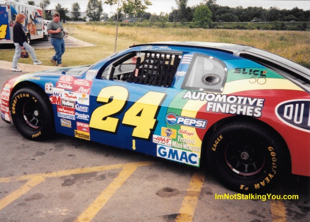 Jeff Gordon show car