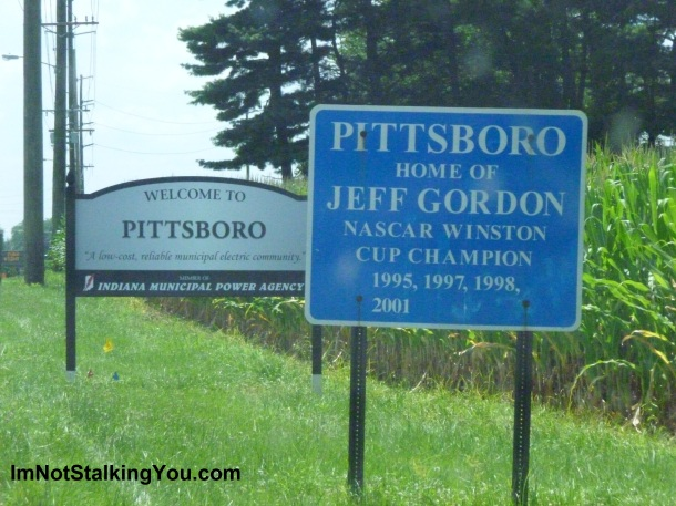 JEFF GORDON-sign