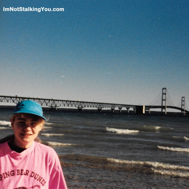 Mackinac Bridge, Mackinaw City, MI 1990