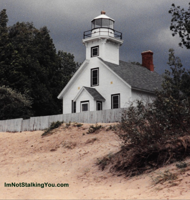 Old Mission Point Lighthouse, near Traverse City, MI 1990