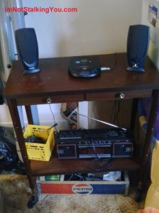 My hillbilly sound system.
