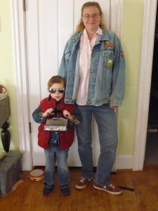 Marty McFly & Jennifer. Anyone even know what her last name is in the movie???