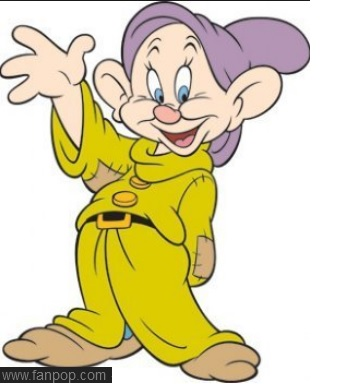 Dopey from Snow White & the Seven Dwarves