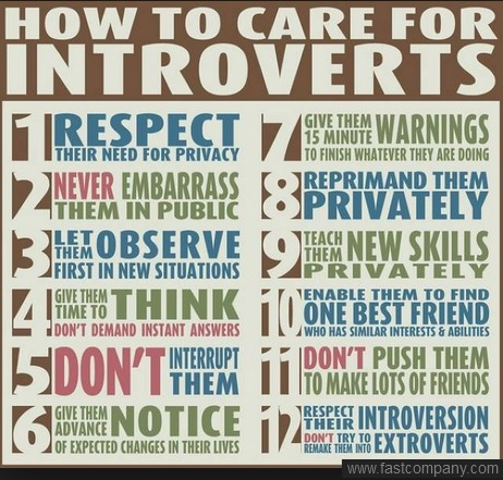 EXTROVERT-Introvert care