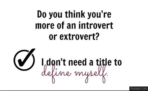 EXTROVERT-just me