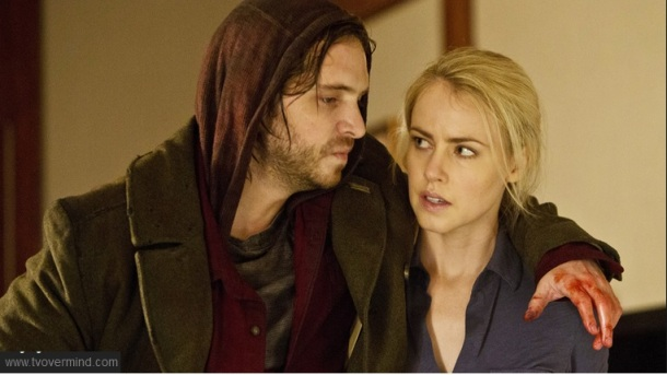 Cole & Cassie on Syfy's 12 Monkeys
