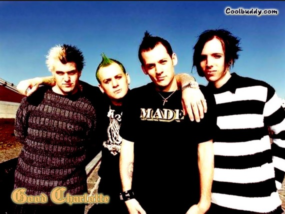 The Good Charlotte boys, back in the day.
