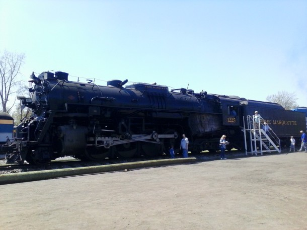 The Pere Marquette 1225 A.K.A. The Polar Express
