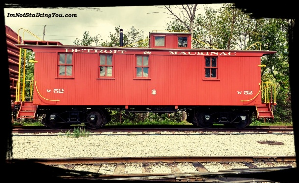 You gotta have a caboose...