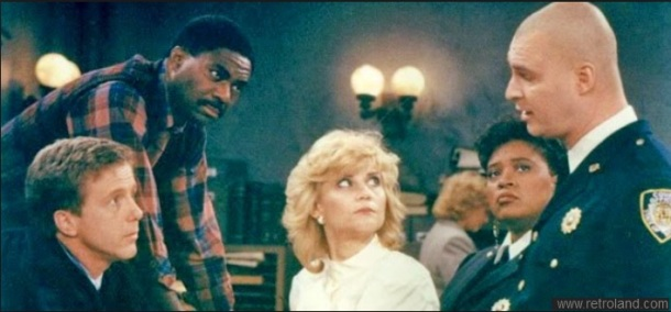 A scene from Night Court.