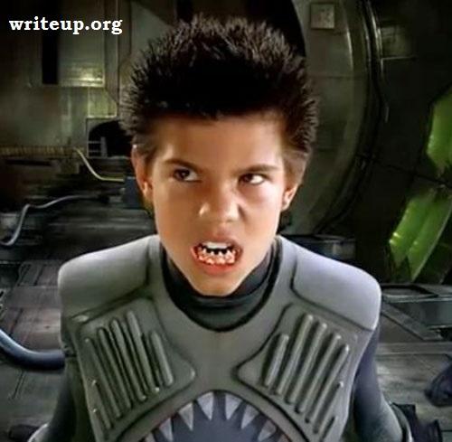 Shark Boy Taylor Lautner